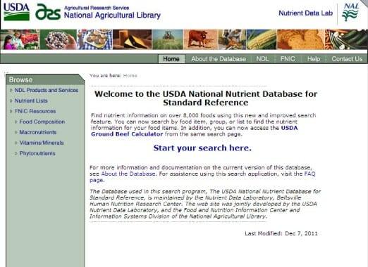USDA-computer