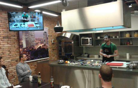 בישול בריא וטעים – מתכונים מיוחדים מסדנת בישול עם השף והדיאטן אודי ברקן.