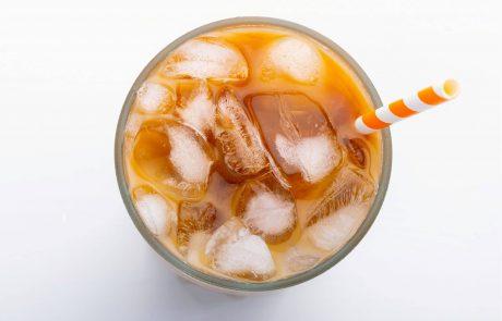 אינפוגרפיקה – תזונה בקיץ – קפה קר