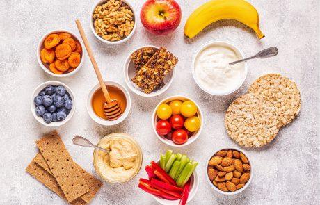 אינפוגרפיקה – תזונה בקיץ – נשנושים בריאים